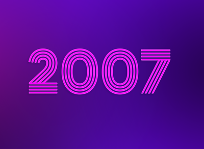 Playlist cover for 2007