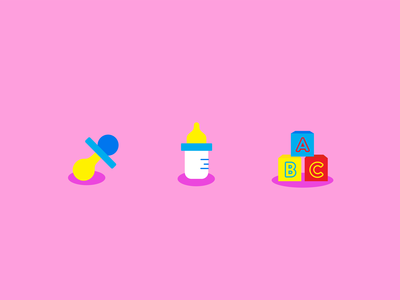 Icons For Preschool Daycare