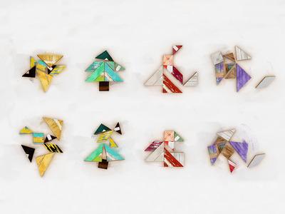 Elevation - Christmas Tangrams