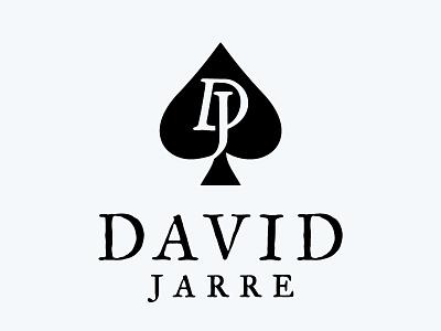 David Jarre logo design magic magician ace of spades david jarre