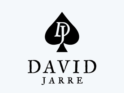 David Jarre logo design magic magician ace of spades david jarre