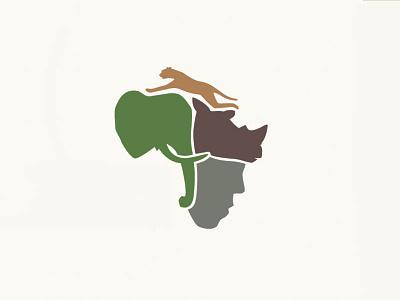 African Wildlife Conservation logo design conservation africa wildlife indigenous communities african wildlife