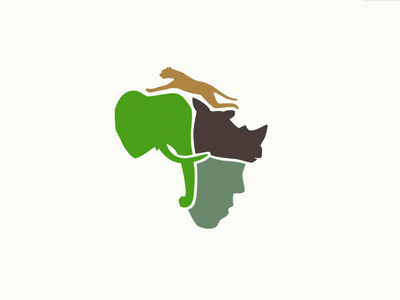 African Wildlife Conservation logo design conservation africa wildlife indigenous communities african wildlife