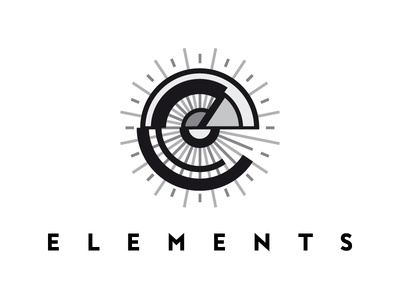 Elements architecture geometric logo kandinsky abstractism futurism geometry elements e