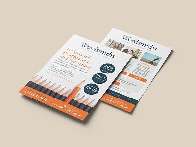 Copywriting Leaflet copywriting branding leaflet design