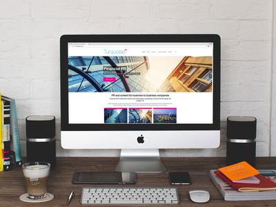PR Company Website pr company wordpress design website design
