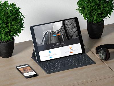 Fortified Property Website content management wordpress design website design