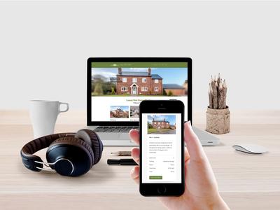 Luxury Homes Developer Website responsive wordpress luxury homes web design