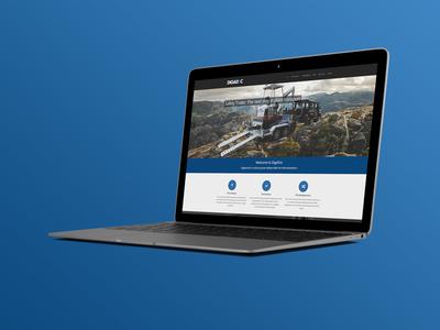 Safety Trailer Website wordpress responsive web design