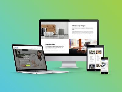 Home Automation Website home automation website responsive website wordpress web design