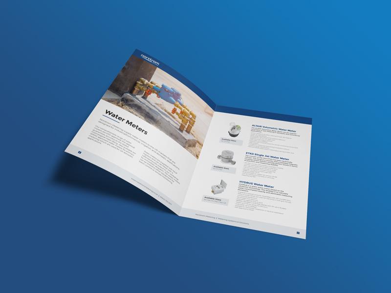 Metering Brochure Design brochure design