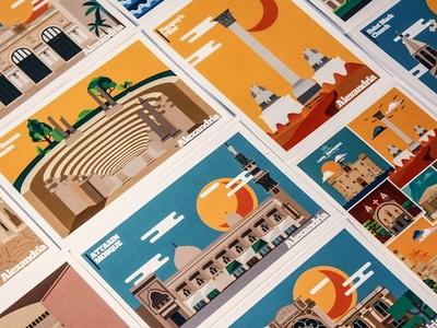 Alexandria Postcards
