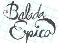 La Balada Épica Cover Sketch