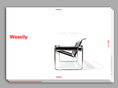 Wassily Landing Page
