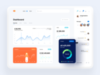 eCommerce dashboard web app