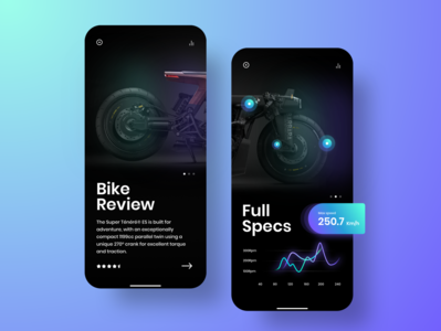 Modernistic Bike app