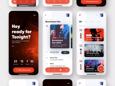 VIP event app showcase