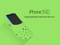 iPhone 5croc
