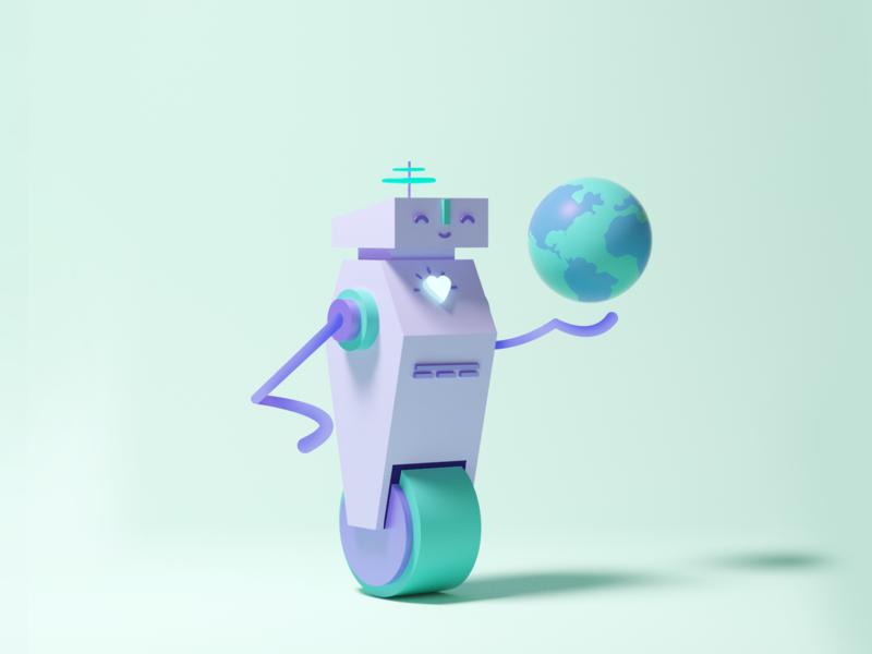 Mom characterdesign robot design illustration