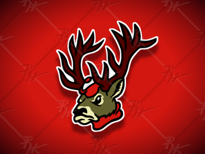 Vintage Style Stag Mascot stags fairfield antique high school vintage college classic ncaa mascot athletics sports