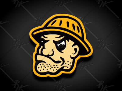 Vintage Style Pittsburgh Steelers Mascot nfl steelers pittsburgh classic vintage football mascot athletics sports