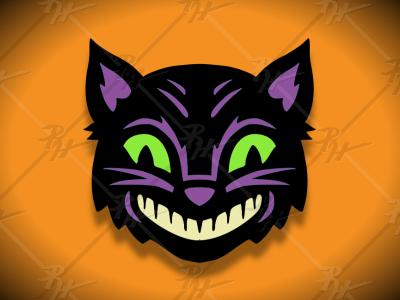 Vintage Halloween Black Cat beistle black cat halloween design halloween retro classic vintage