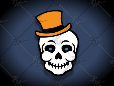 Vintage Style Halloween Skull halloween design halloween skeleton skull beistle classic retro vintage