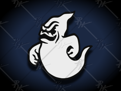 Vintage Style Halloween Ghost ghosts boo ghost halloween classic vintage mascot athletics