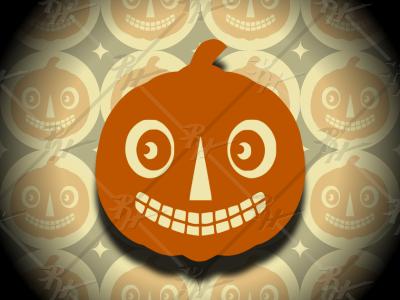 Vintage Halloween Jack O' Lantern jack o lantern vintage design pumpkin halloween design classic antique retro vintage halloween