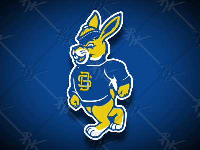 Vintage Walking Jack 2021 jackrabbit rabbit south dakota state university basketball college ncaa classic vintage football mascot athletics sports