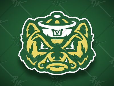 Vintage Style Utah Valley Wolverine wolverines wolverine utah valley university orem utah high school antique basketball college ncaa classic vintage football mascot sports