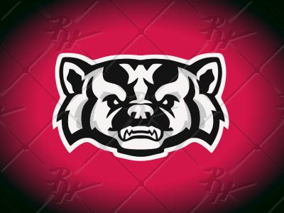 Wisconsin Badger Concept Pt2 badgers big10 mascot hockey basketball football university college athletics sports ncaa badger