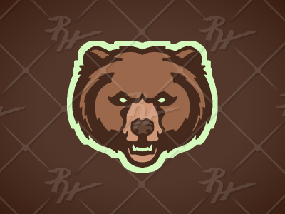 Grizz grizzlies bears sports mascot college bruin grizzly brown bear bear