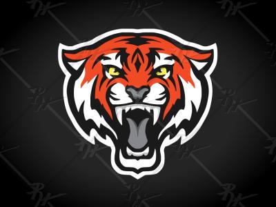 Tiger Sports Logo tigres tigers tiger design high school logo college ncaa basketball football mascot athletics sports