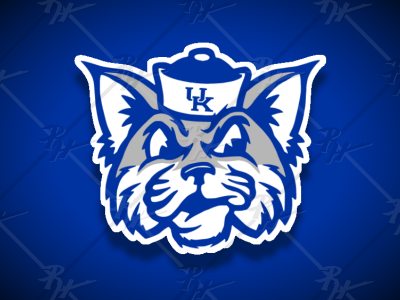 Vintage Style Kentucky Wildcats Mascot
