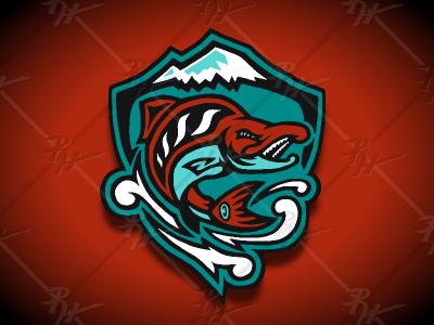 Seattle Sockeyes Concept (Shield) 2