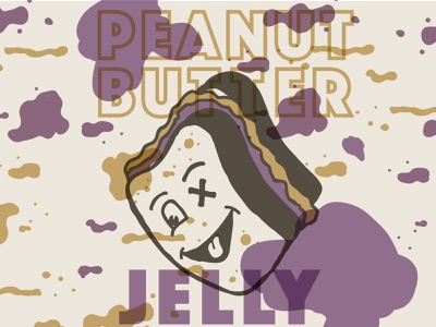 Peanut Butter and Jelly pbj jelly peanut butter