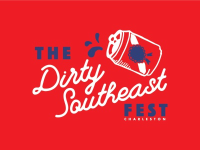 Dirty Southeast Fest festival fest south southeast dirty beercan beer pabst blue ribbon pabst pbr pbr music music festival