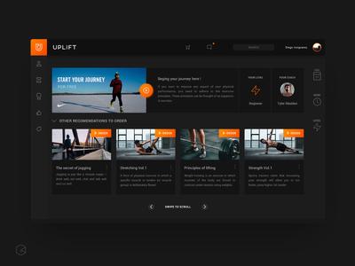 Uplift Workout App