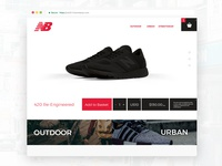 Landing Page, Shoes