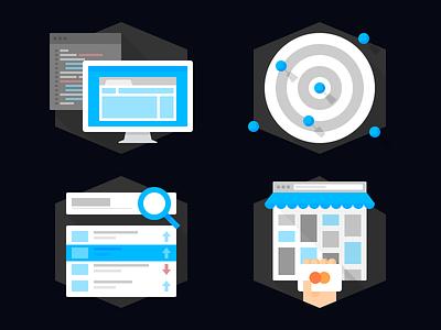 Service Icons Vol. 2 icon icon set flat service agency