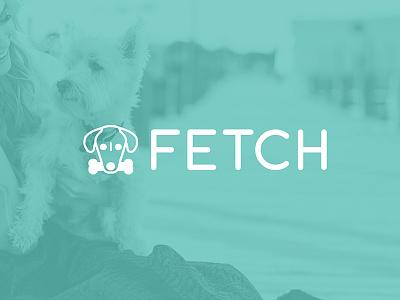 Fetch Logo logo dog fetch