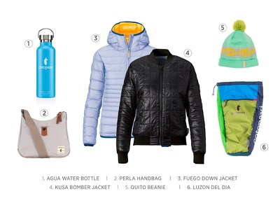 Cotopaxi // Email layout marketing clothing gear outdoor