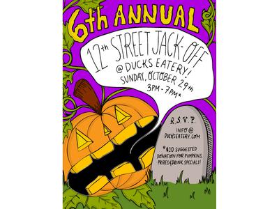 6th Annueal 12th Street Jack-Off!