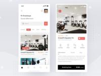 Sport Place Finder App