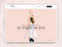 PHLEEK / Fashion website