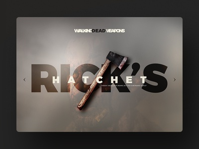 TWD WEAPONS
