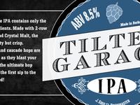 Tilted Garage Beer