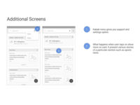 Google Now Redesigned - Additional Screens