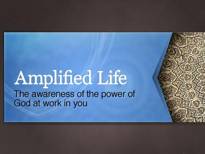 Amplified Life georgia helvetica pattern